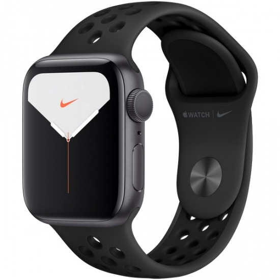 Apple Watch Nike Series 5 GPS 40mm Space Gray (серый космос) Aluminum Case with Anthracite/Black Nike Sport Band